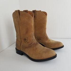 Ariat Mens Sierra Round Toe Work Boots Size 7M ATS